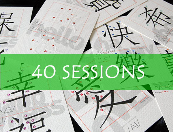 40 Sessions (30 Mins/session)