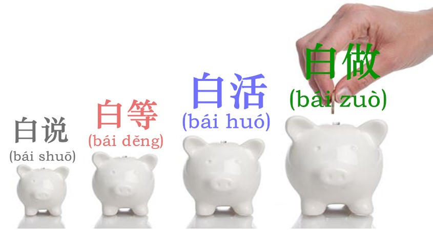 "When 白(bái) Doesn't Mean ""white""!"