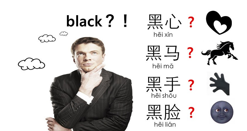 Black In Chinese